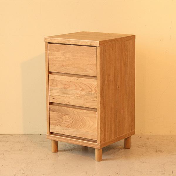 チェスト 3段チェスト 幅40cm 3段 リビング収納 リビング 寝室 小ぶり 収納家具 北欧 完成品