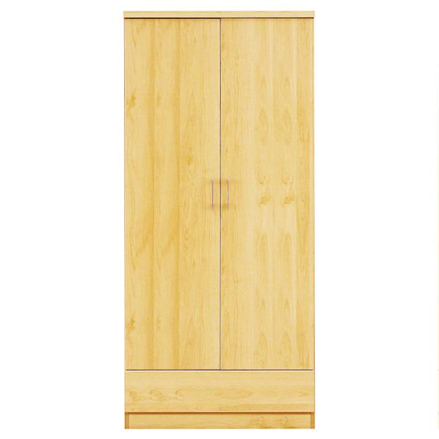 ワードローブ ロッカー 服吊り クローゼット タンス 幅80cm 木製 収納家具 家具 完成品 シンプル モダン 国産