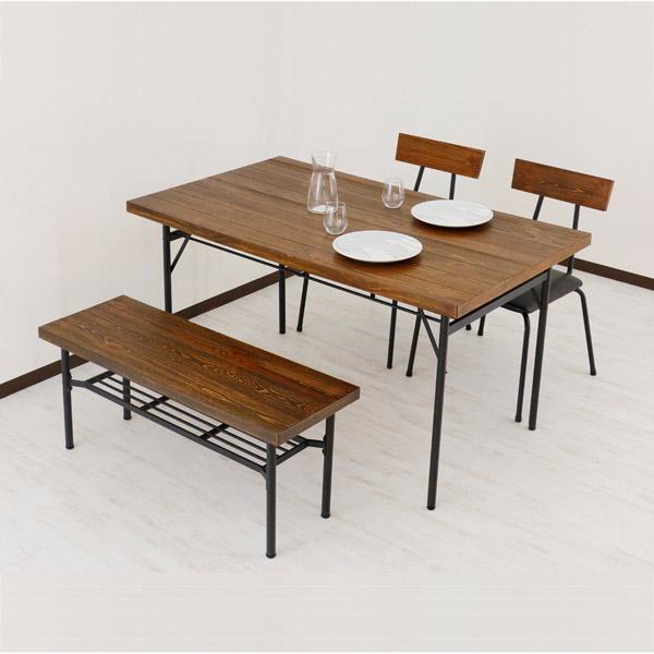 ダイニングセット ダイニング4点セット ダイニングテーブルセット 4点セット 4人掛け 4人用 北欧風 シンプル おしゃれ モダン 木製