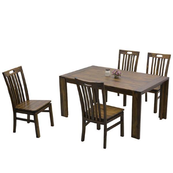 ダイニングセット ダイニングテーブルセット 4人掛け 5点セット おしゃれ 食卓セット ダイニングセット 木製 北欧 4人掛け 5点