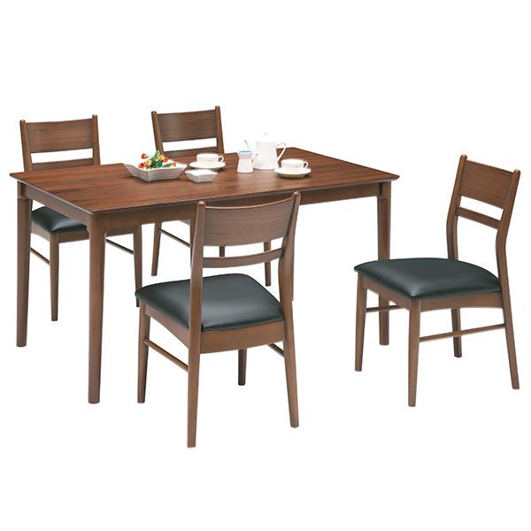 【ポイント3倍 8/9 9:59まで】 ダイニングテーブルセット ダイニングセット シンプル モダン 5点 食卓テーブルセット 4人用 木製 送料無料