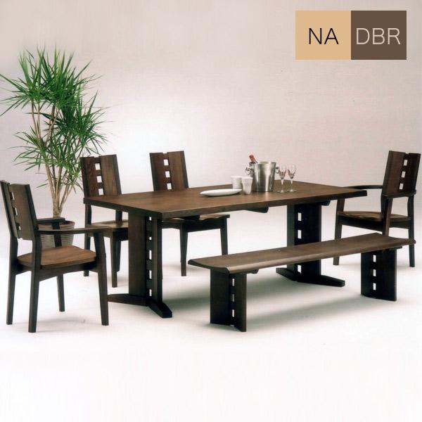 ダイニングテーブルセット ダイニングセット モダン おしゃれ 幅180cm 食卓セット 6点 6人掛け ベンチ 木製 ダイニング 椅子 テーブル