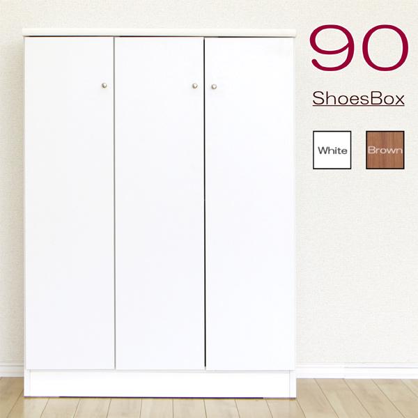 低価格化 下駄箱 シューズボックス 幅90cm 靴箱 玄関収納 靴棚 靴収納 木製 送料無料カード決済可能 完成品 新生活 モダン ロータイプ シンプル
