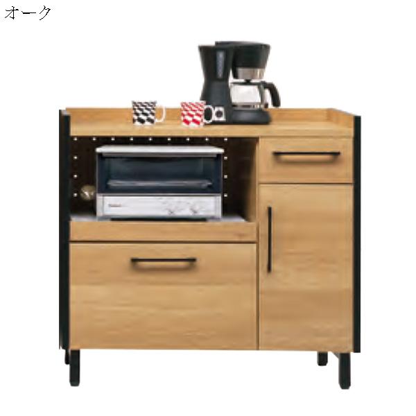 キッチンカウンター カウンター 幅90cm 完成品 キッチン収納 収納家具 シンプル おしゃれ モダン