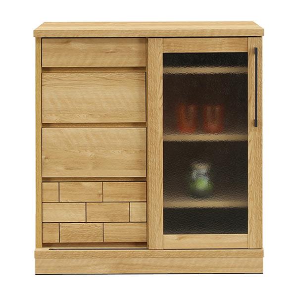 キャビネット サイドボード リビングボード リビングチェスト 収納家具 木製 幅80cm リビング収納 日本製 完成品 送料無料