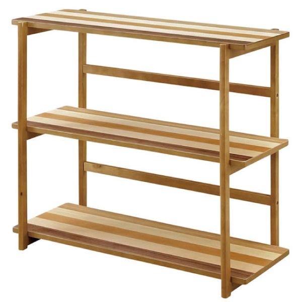 ディスプレイラック シェルフ フリーラック サイドボード 棚 飾り棚 木製 おしゃれ シェルフ 幅85cm 小物収納 収納家具 送料無料