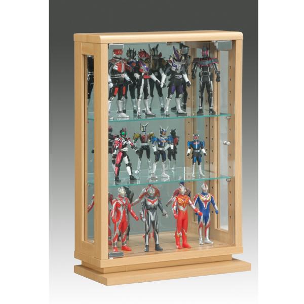 コレクションボード コレクションケース キュリオケース ディスプレイラック ディスプレイ スリム 薄型 飾り棚 幅40cm フィギュアラック モダン ナチュラル ブラウン 白 完成品