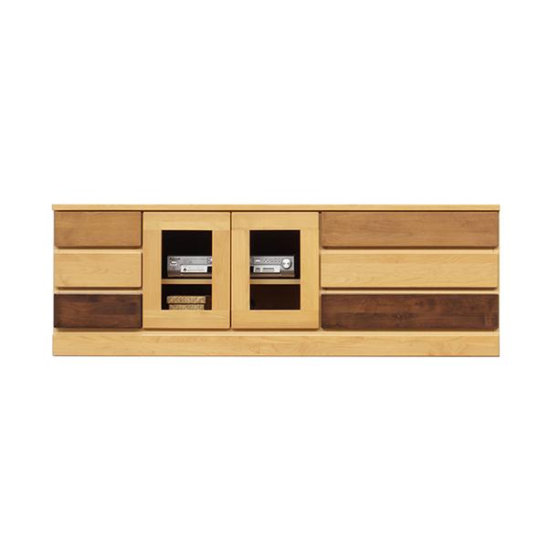 ローボード キャビネット リビング収納 リビングチェスト 木製 おしゃれ 幅150cm 引き出し 3段 サイドボード 日本製 国産 完成品 送料無料