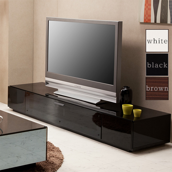 テレビ台 テレビボード ロータイプ ローボード TVボード TV台 AV収納 テレビラック AVラック AVボード 収納 幅180cm シンプル モダン おしゃれ 白 完成品 送料無料