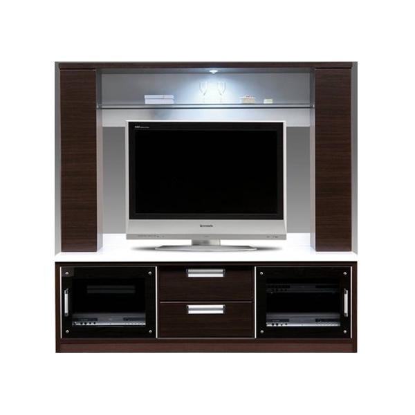 テレビボード テレビ台 リビングボード 木製 引き出し TVボード リビング収納 大収納 ガラス棚 完成品 幅160cm 送料無料