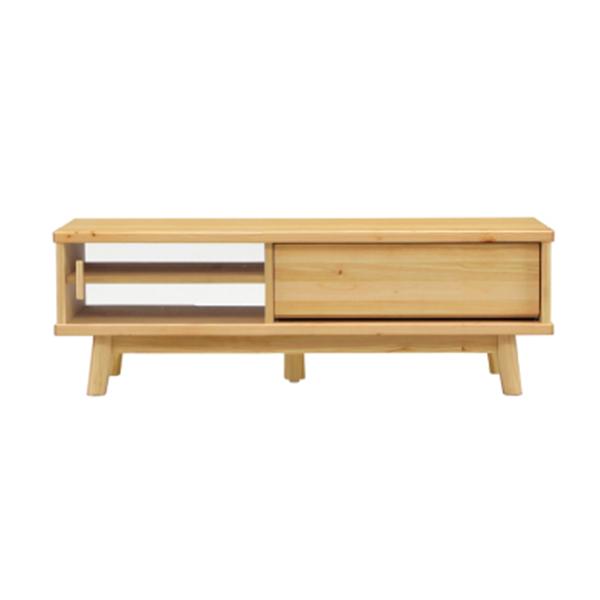 テレビボード テレビ台 ローボード 北欧 モダン 幅120cm ヒノキ 木製 無垢 檜 シンプル ナチュラル おしゃれ 木目 リビング収納