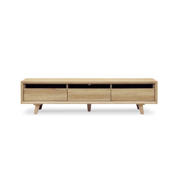 テレビボード ローボード 幅180cm ナチュラル 北欧 モダン シンプル 木製 リビングボード おしゃれ 収納家具 リビング
