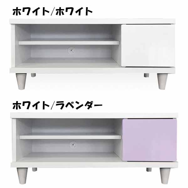 テレビボード テレビ台 幅90cm 木製 AV機器収納 北欧 シンプル モダン 完成品 日本製 リビング おしゃれ ハイグロスシート 国産