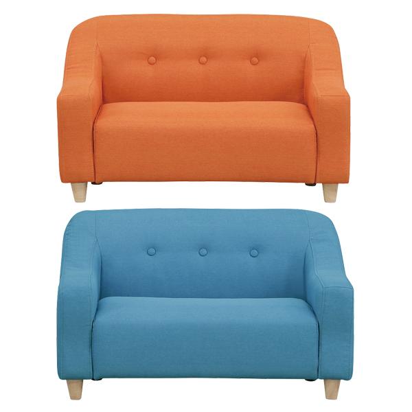ソファ ソファー 2人掛けソファ おしゃれ コンパクト 小さい 布 ファブリック 二人掛け 2人用ソファ sofa 2Pソファ かわいい