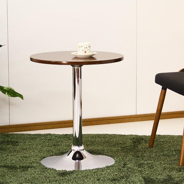 テーブル ハイテーブル カフェ カウンター 円形 丸テーブル おしゃれ バーテーブル サイドテーブル コーヒーテーブル 直径50cm 送料無料