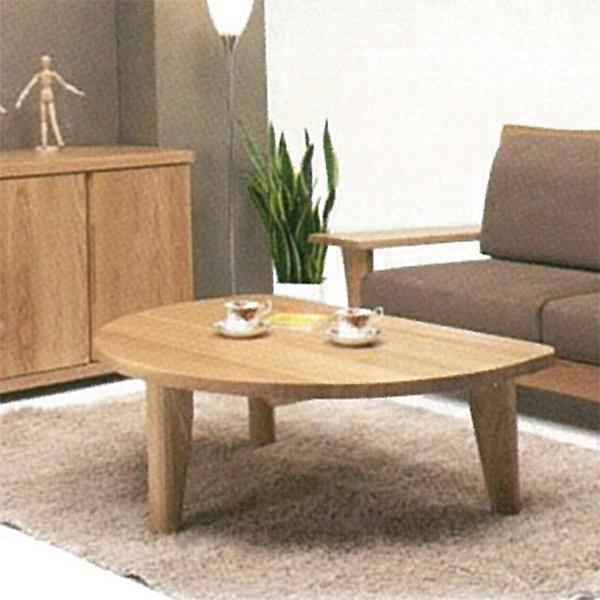 テーブル センターテーブル 木製 リビングテーブル 座卓 半円 幅110cm モダン ローテーブル タモ材 ナチュラル 木目 おしゃれ