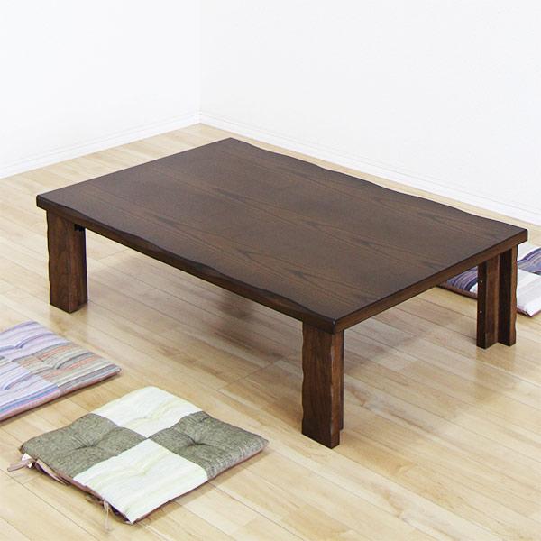 【ポイント3倍 8/9 9:59まで】 ローテーブル テーブル 座卓 折りたたみ 折脚 折れ脚 ちゃぶ台 幅120cm 和風 シンプル 送料無料