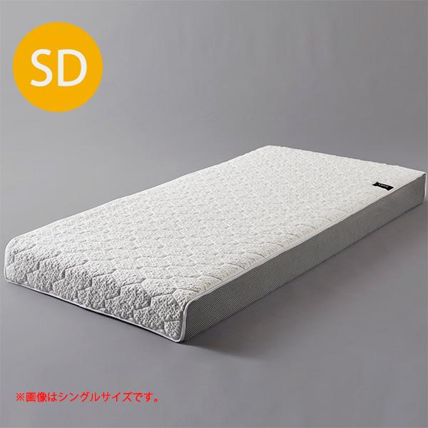 セミダブルマットレス マットレス ライトウェーブ ウォッシャブル 厚さ18cm 寝具 セミダブルサイズ セミダブル 洗える