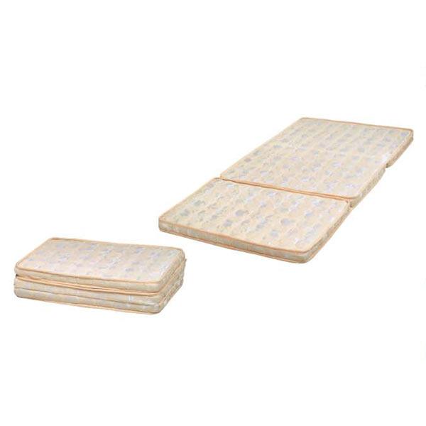 三つ折マット パームマット マットレス ベッド マット シングルサイズ 厚さ6cm パーム 三つ折 省スペース シングルベッド用マットレス 折りたたみ 送料無料
