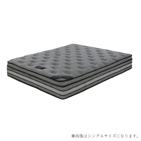 ダブルマットレス マットレス ポケットコイル ダブルサイズ ダブルベッド用マットレス 高反発 厚さ26cm ベッド マット