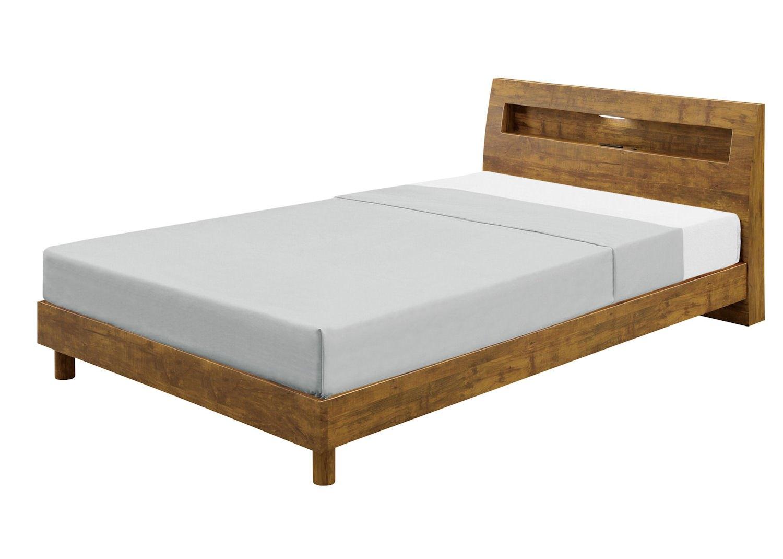 セミダブルベッド ベッド ベッドフレーム セミダブルサイズ 脚付き 木製 シンプル モダン