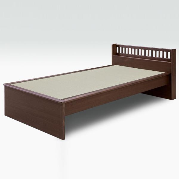 畳ベッド シングル スノコ 国産畳 和風モダン 木製 畳ベッド スノコ