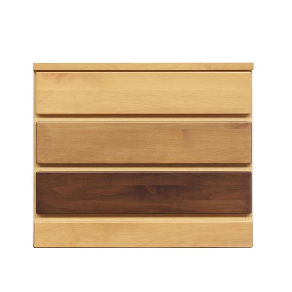 チェスト リビングチェスト 木製 ミニチェスト おしゃれ リビング収納 幅60cm 引き出し 3段 日本製 完成品 収納家具 小物収納 シンプル モダン 送料無料