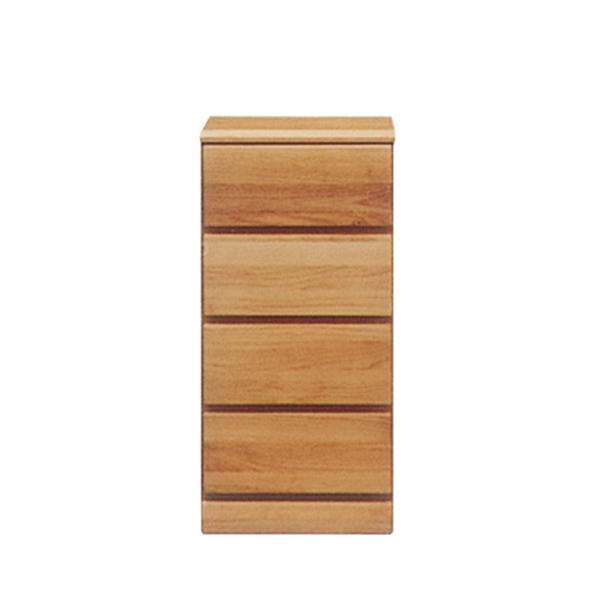 チェスト ミニチェスト タンス スリムチェスト 幅40cm 引き出し 4段 省スペース 木製 おしゃれ 北欧モダン 完成品 コンパクト