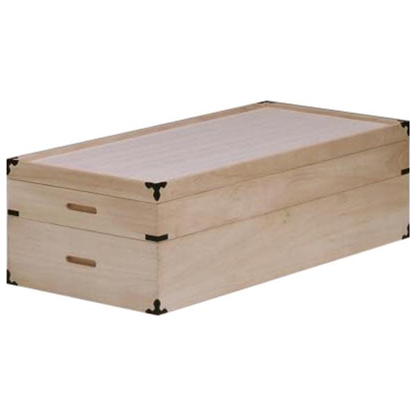 衣装箱 衣装ケース 桐箱 和タンス 2段 和風 木製 完成品