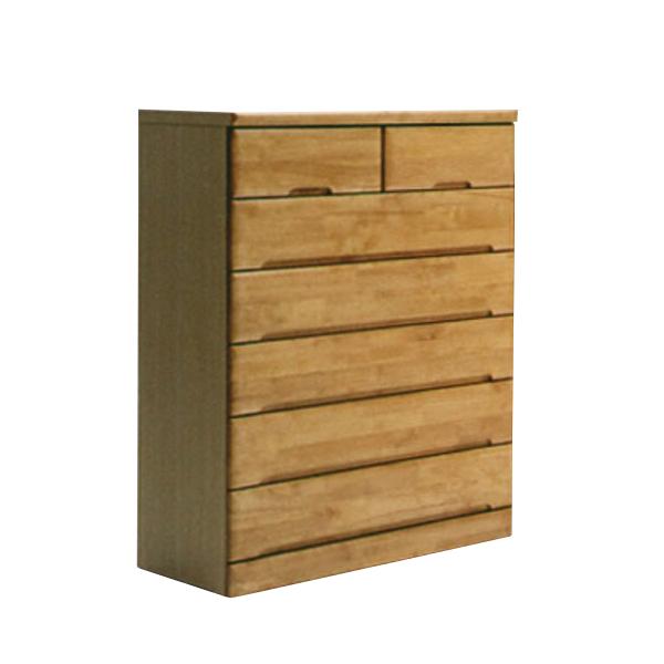 チェスト タンス ハイチェスト 幅90cm 引き出し 6段 木製 完成品 モダン