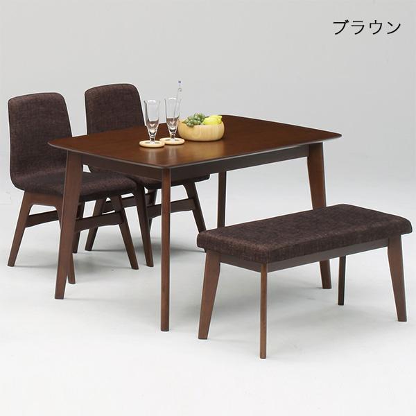 ダイニングセット ダイニングテーブルセット 4人用 4点セット ダイニングテーブル 食卓セット ベンチ 幅120cm 北欧 モダン シンプル