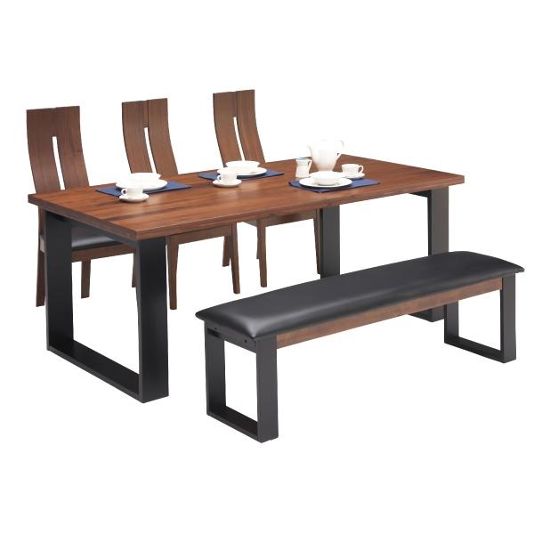 ダイニングセット ダイニングテーブルセット 食卓セット 5点セット 6人掛け 6人用 木製 シンプル おしゃれ モダン