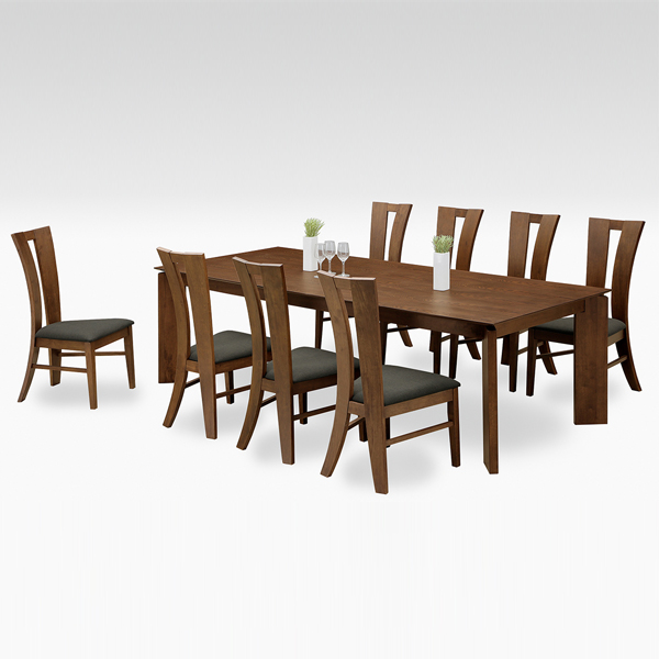 Dining Tables Sets Set 8 9 Point Scandinavian Table Seat Piece