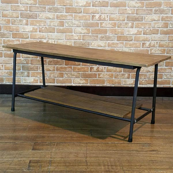 テレビボード テレビ台 古木 アイアン インダストリアル レトロ アンティーク風 おしゃれ サイドテーブル テーブル 幅120cm