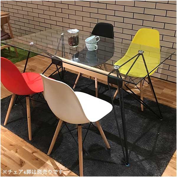 ダイニングテーブル ガラステーブル テーブル ガラスダイニングテーブル 机 幅150cm ガラス おしゃれ シンプル モダン 送料無料