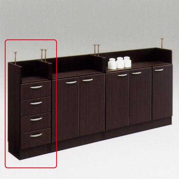 キッチンカウンター カウンター下収納 スリム 引き出し キッチン収納 幅30 隙間収納 収納家具 おしゃれ 日本製 完成品