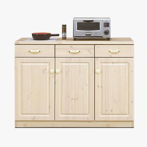 キッチンカウンター カウンター 日本製 キッチン台 北欧 パイン 無垢 おしゃれ 完成品 キッチン収納 木製 国産