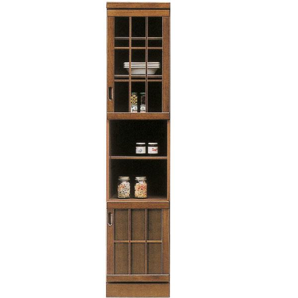 食器棚 ダイニングボード カップボード キッチンボード スリムボード キッチン収納 すきま収納 和風 浮造り 木製 幅40cm 隙間 収納家具