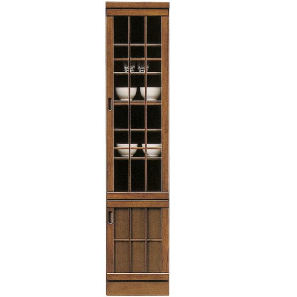 【ポイント3倍 8/9 9:59まで】 食器棚 ダイニングボード 和風 キッチンボード スリムボード キッチン収納 すきま収納 浮造り 隙間 家具 木製 幅40cm カップボード 送料無料