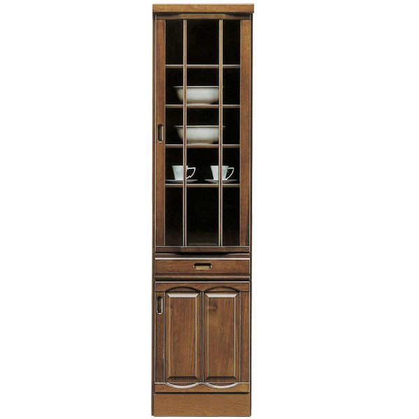 食器棚 ダイニングボード 幅45cm キッチンボード スリムダイニングボード キッチン収納 すきま収納 和風 浮造り 木製 送料無料