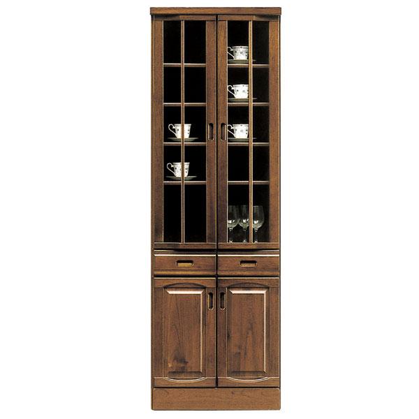 ダイニングボード 食器棚 和風 キッチンボード おしゃれ 木製 キッチン収納 完成品 開き戸 両開き カップボード 幅60cm