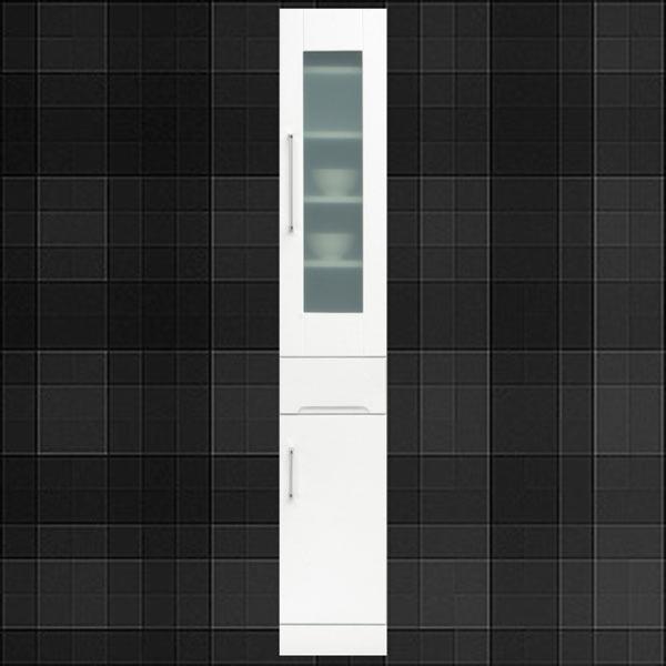 食器棚 カップボード 完成品 30幅 幅30cm スリム食器棚 30幅食器棚 スリムボード ダイニングボード キッチンボード 隙間収納食器棚 日本製 シンプル 木製 白