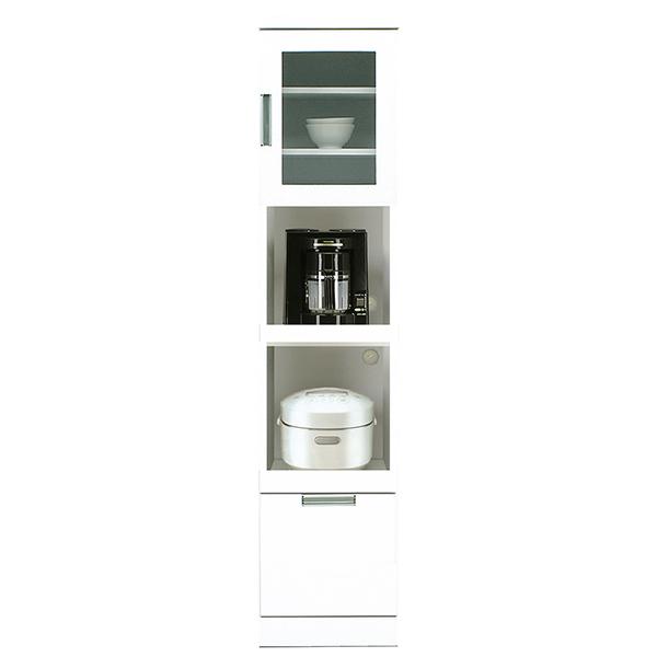 キッチンボード スリムボード ダイニングボード 食器棚 キッチン収納 収納家具 幅40cm 隙間収納 日本製 国産 完成品