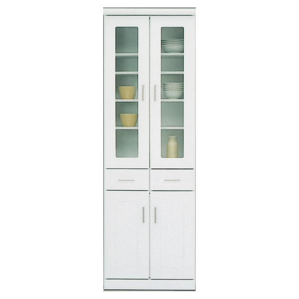 ダイニングボード 食器棚 カップボード キッチン収納 収納家具 日本製 幅60cm 白 食器収納 おしゃれ