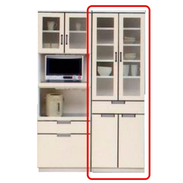 食器棚 ダイニングボード キッチンボード キッチン収納 木製 完成品 開き戸 幅60cm 国産