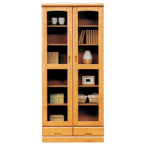 本棚 書棚 本収納 収納家具 木製 幅80cm 完成品 国産 おしゃれ