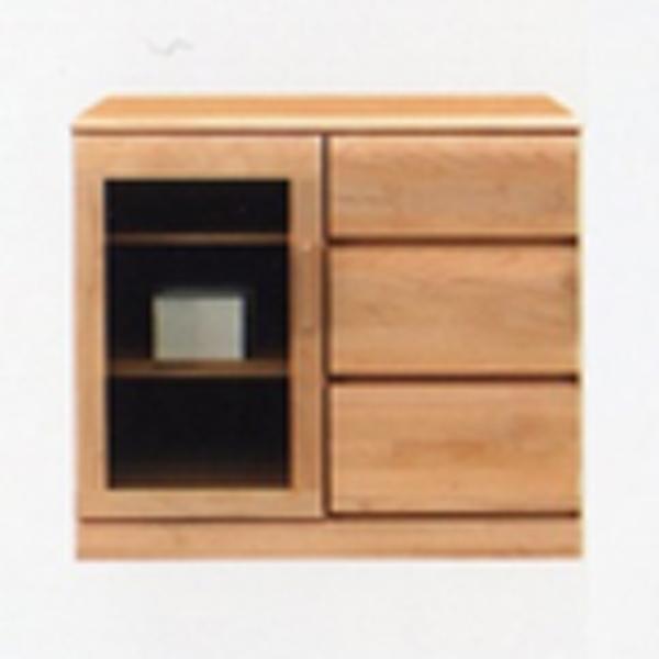 サイドボード リビングボード 幅80cm キャビネット リビングチェスト 収納家具 木製 リビング収納 日本製 完成品