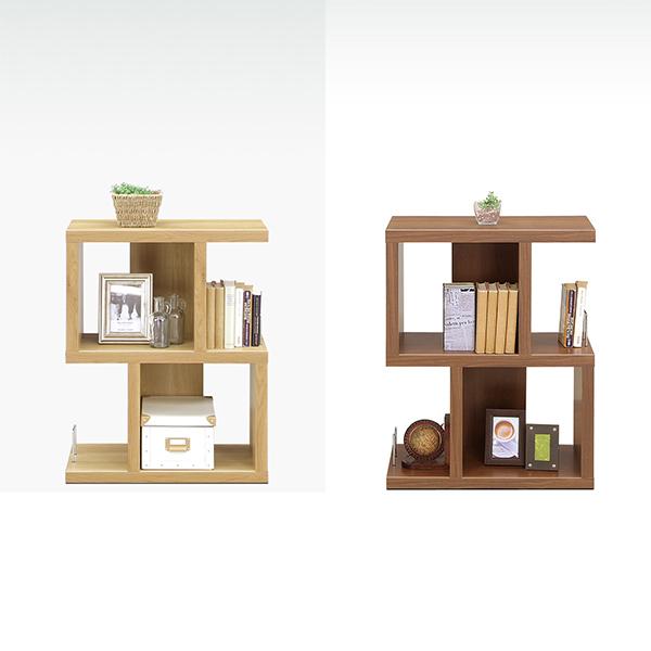 ブックシェルフ オープンラック 木製 オープンシェルフ 日本製 ディスプレイ 棚 完成品 おしゃれ 幅60cm ロータイプ 本棚
