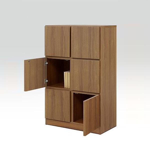ラック リビングボード 収納ラック 幅74cm 完成品 木製 リビング収納 開き扉 日本製 棚 国産 おしゃれ モダン