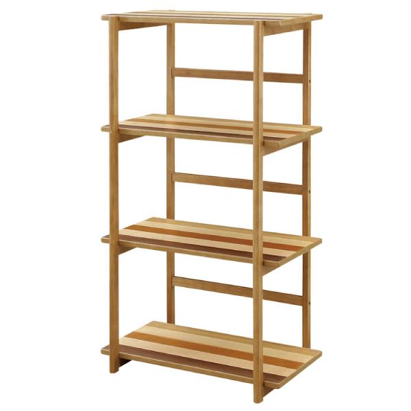 ディスプレイラック シェルフ フリーラック サイドボード 棚 飾り棚 木製 おしゃれ 幅60cm 小物収納 収納家具 モダン 送料無料
